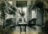 Interior view of Conservatory at Bonnie Brae residence, Nashville, Tennessee, n.d.