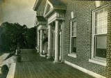 Front porch detail showing doors of the Bonnie Brae residence, Nashville, Tennessee, n.d.