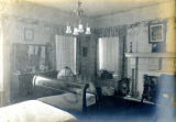 Interior bedroom of the Bonnie Brae residence, Nashville, Tennessee, n.d.