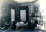 Interior room, mission style, of the Bonnie Brae residence, Nashville, Tennessee, n.d.