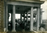 Veranda, second view, of the Bonnie Brae residence, Nashville, Tennessee, n.d.