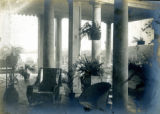 Veranda architectural details of the Bonnie Brae residence, Nashville, Tennessee, n.d.