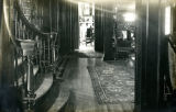 Interior view of the hallway of the Bonnie Brae residence, Nashville, Tennessee, n.d.
