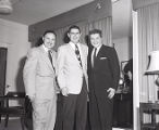 Liberace with Gayle Gupton in Lebanon, Tennessee, 1954 November