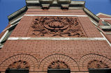 Photograph of a the terra cotta architectural design on the Elks Lodge building in Nashville,...