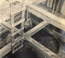 Construction of the Shelby Street Bridge, 1908 February 22