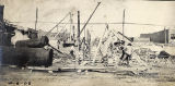 Construction of the Shelby Street Bridge, 1908 April 06
