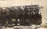 Construction of the Shelby Street Bridge, 1908 May 19