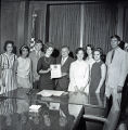 Mayor Briley presenting the Red Cross Proclamation, 1965 May 07