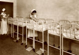 Photograph of General Hospital Nursery in Nashville, Tennessee, circa 1930