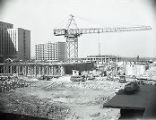 Nashville Municipal Auditorium construction, 1961 February 18
