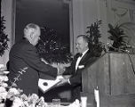 Edwin W. Craig receives award, 1962 May 03