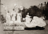 Photograph of  The National League for Woman's Service float, French Day Parade, Nashville,...