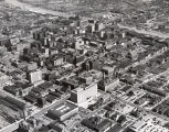 Aerial photograph of downtown Nashville, Tennessee, circa 1954