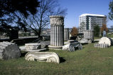 Photograph of columns and capitals from the Tennessee State Capitol Building, Nashville,...