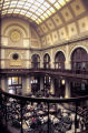 Photograph of the vaulted ceiling interior of the Union Station Hotel, Nashville, Tennessee,...