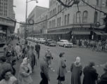Church Street at Fifth Avenue, Nashville, Tennessee, 1955 December 22