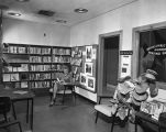 Photograph of the Nashville Public Library Airport Reading Room, circa 1962