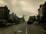 Broad Street off Fourth Avenue, Nashville, Tennessee, 1957 October 31