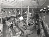 Department store interiors at Christmas, Nashville, Tennessee, 1955 December 22