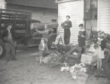 Salvage scrap drive in Nashville and Middle Tennessee region, 1942 October