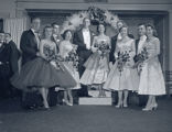 Delta Beta Sigma social event at Belle Meade Country Club, 1957 December 06