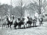 J. G. Stahlman hunting event at Greenbrier, Tennessee, 1935 November 24