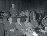 Swearing-in ceremony of new judges, Nashville, Tennessee, 1958 September 01