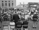 Victory Memorial Bridge dedication, Nashville, Tennessee, 1964 May 30