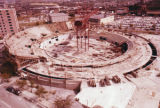 Construction site of the Nashville Municipal Auditorium, circa 1960s