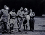 "Brooklyn Dodgers baseball star James ""Jim"" Gilliam presented with key to City, Nashville,..."