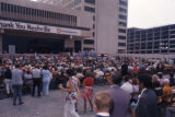 First American National Bank event in downtown Nashville, Tennessee, circa 1970s