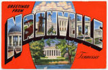 Greetings from Nashville, Tennessee, between 1935 and 1954