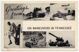 Greetings from On Maneuvers in Tennessee, circa 1942