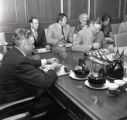 Thanksgiving dinner at the Davidson County Court House, Mayor Briley's Conference Room, 1972...