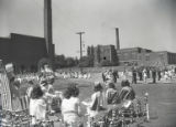 Schoolchildren participating in the May Day events at Eakin Elementary, Nashville, Tennessee, 1941...