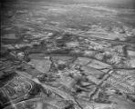 Aerial of Knapp Farm near Nashville Airport, 1961 January 03