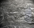 Aerial of Crieve Hall and Nolensville Road area, south of Nashville, Tennessee, 1961 January 03