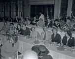 Nashville City Teachers' Association meeting at Maxwell House, with Mayor Ben West, 1953 March