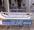 Woodland Street Bridge design model, Nashville, Tennessee, circa 1960s