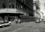 Tulane Hotel demolition in downtown Nashville, Tennessee, circa 1957