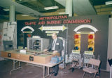 Exhibit displays at the Metropolitan Nashville Government seventh anniversary breakfast,...