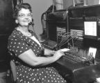 Mrs. Margie Duncan, Switchboard Operator, City Hall, Nashville, Tennessee, 1962 September 07