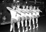 The Firettes at Engine Company 8, Nashville, Tennessee, 1965 July