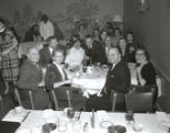Colemere Club dinner with entertainer Tommy Sands, Nashville, Tennessee, 1958