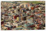 Aerial view of Nashville, Tennessee, circa 1940