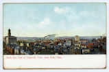 Birds eye view of Nashville, Tenn. from Polk Flats, between 1907 and 1915
