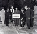 Mayor Briley and dignitaries at the groundbreaking ceremony of the Acuff-Rose Music Publishing...