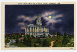 Night-time scene of state capitol, Nashville, Tenn., between 1915 and 1930