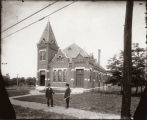 Photograph of Belmont Baptist Church, between 1906 and 1921